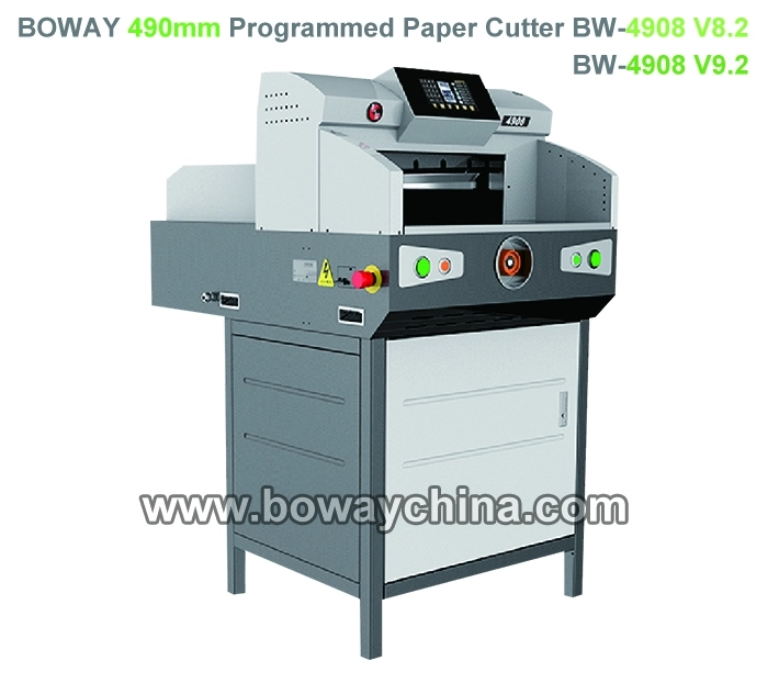CE ISO Boway 4908 490mm Automatic paper cutting machine