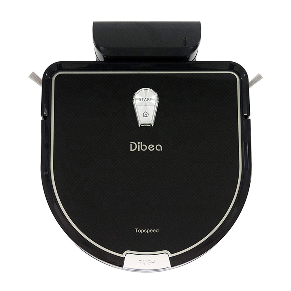 Dibea D960 robot cleaning robot <strong>vacuum</strong> wet and dry for pet hair thin carpets