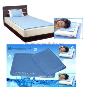 gel mattress topper cooling seat cushion gel mattress become hot selling flash relief cooling pad in summer