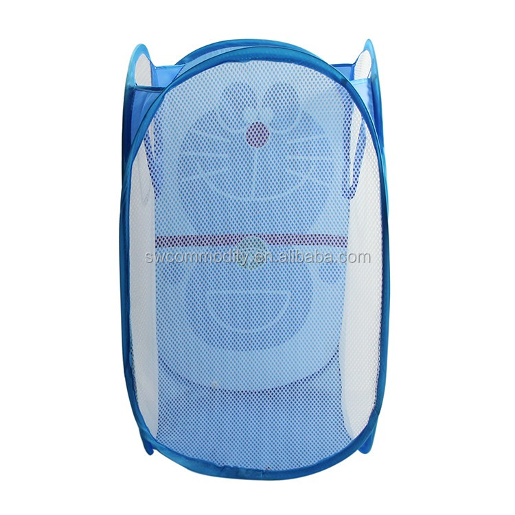 Cute Folding Pop Up Laundry Basket Collapsible Hamper Animal Shape ...