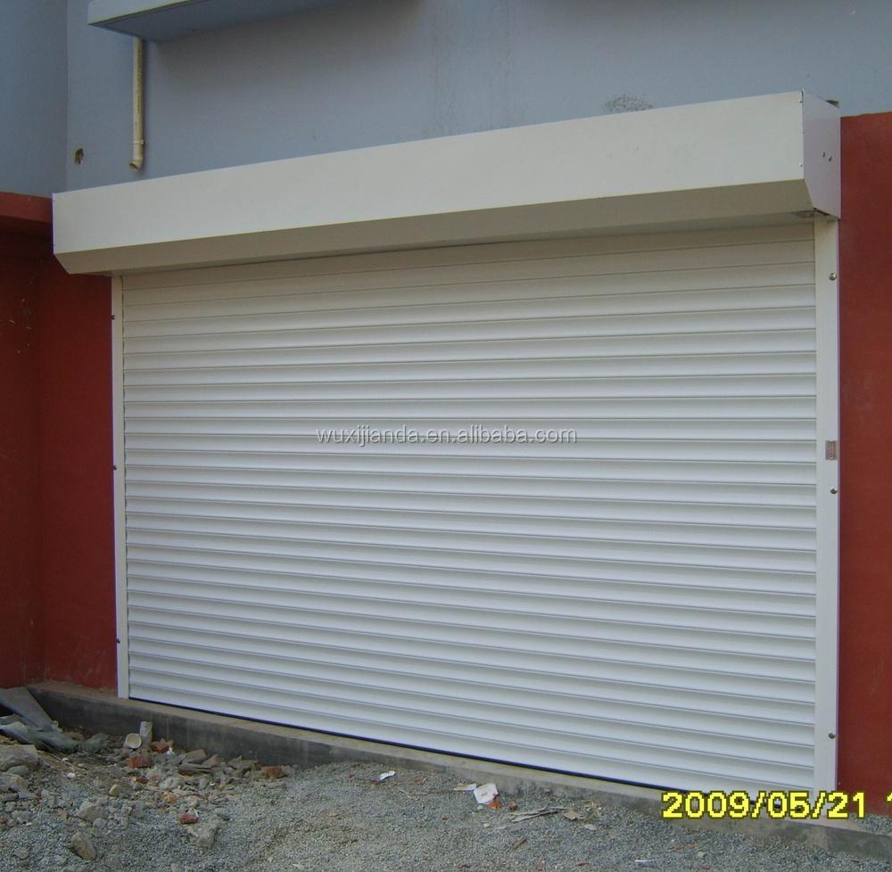 Electric Lightweight Aluminum Roller Garage Door