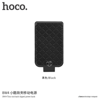 HOCO High Quality BW4 Tiny Cool Universal Back Clipped Power Bank 4000mAh Backup Battery Power Bank for Iphone
