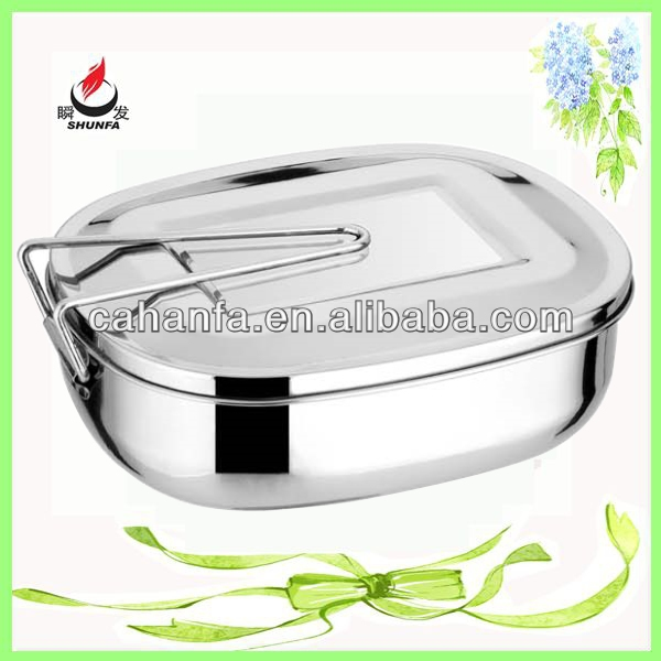 U Shape MAX Size Good Quality & Cheap Price Stainless Steel Food Jar/Food Box