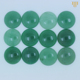 Green Aventurine Gemstone Cabochon Inlay for Rings