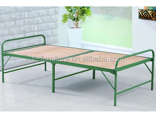 modern cheap folding single bed designsmetal bed framefoldable steel bed - Cheap Single Bed Frames
