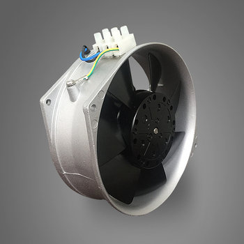 AC 220V motor electric 6 inch high speed metal industrial cooling fan for welding FJ16052MAB