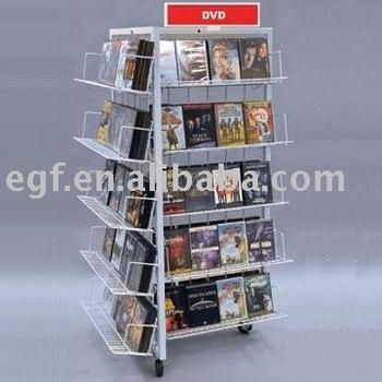 Retail DVD Display Stand / DVD Display Rack