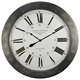 """ROME"" IRON/WOODEN WALL CLOCK"
