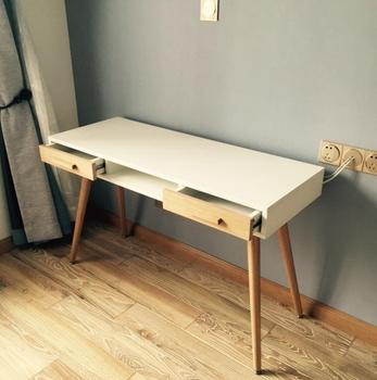 Scandinavian simple design modern computer table