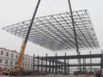 Light truss structure steel truss buy steel structure for Where to buy trusses