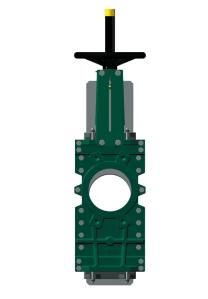 TECOFI Through conduit knife gate valve