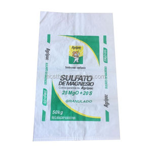 25kg 50kg fertilizer bag grain feed packaging 50kg BOPP pp woven lentil seed bag