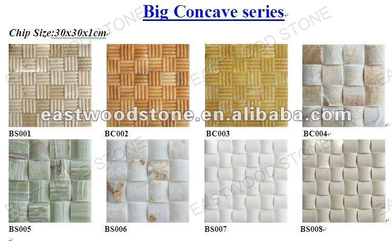 Stone Mosaic,Glass Mosaic Basket Weave Series