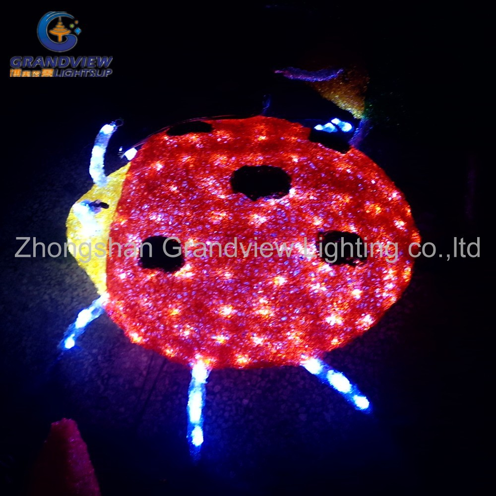 Outdoor Zoo Animals 3d Insect Beetle Illage Led Christmas Lights ...