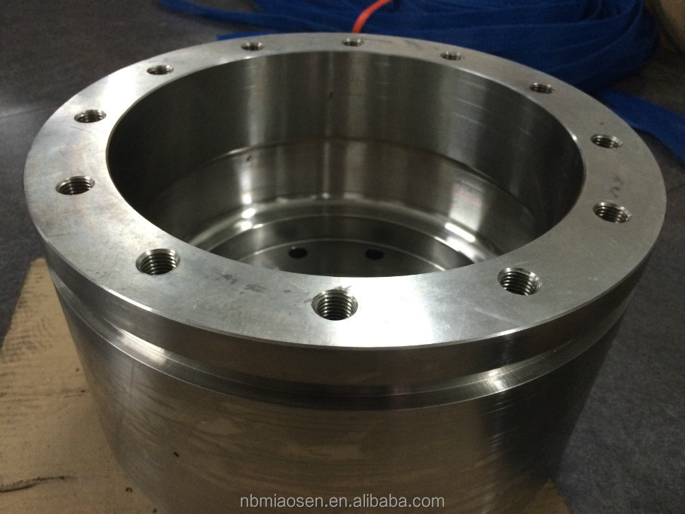 High precision stainless steel large size flange