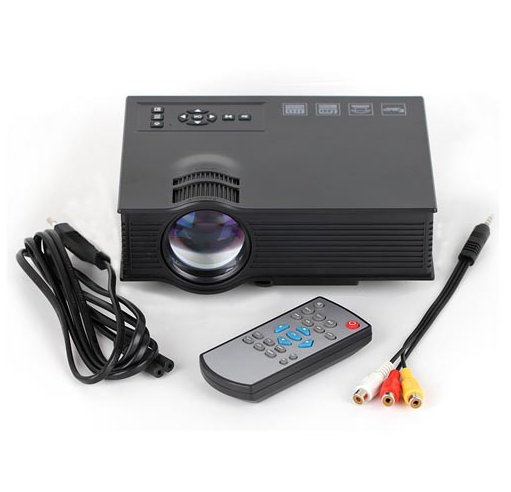 UC40 UNIC Best for small office meeting Projector with 1080p high definition 800 lumen, support USB/HDMI/VGA/SD CARD