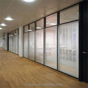 Aluminium entrance living room glass partition design for Living room glass partition designs