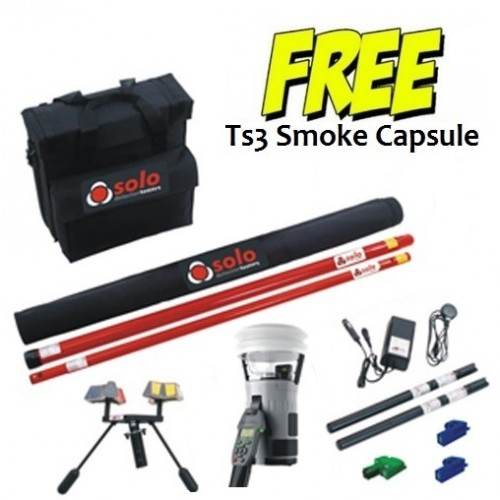 Testifier 6201 Smoke Heat CO Kit for test up to 6m