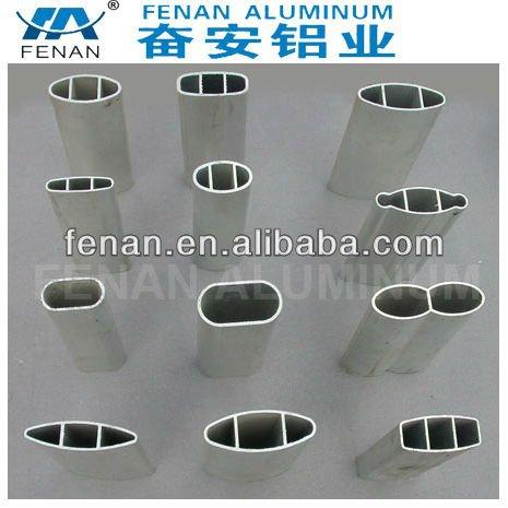 Fenan tubo oval de aluminio tubo redondo rube rect ngulo - Tubo de aluminio redondo ...