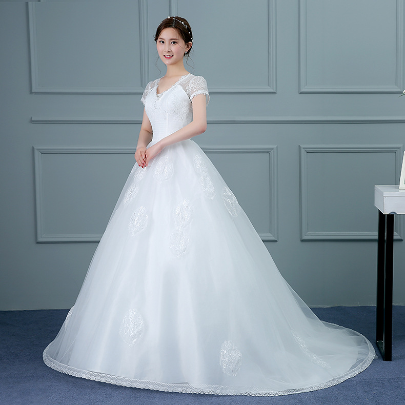 White Long Wedding Dress, White Long Wedding Dress Suppliers and ...