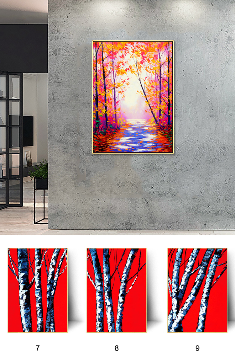 Brand new hand made modern abstract painting home decor art work