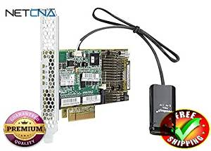 HPE Smart Array P430/2GB with FBWC - storage controller (RAID) - SATA 6Gb/s- With Free NETCNA Printer Cable - By NETCNA