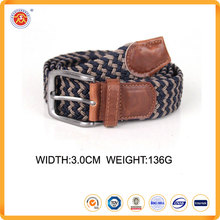Top Quality cheap price elastic stretch belts Braided Elastic Stretch Belt