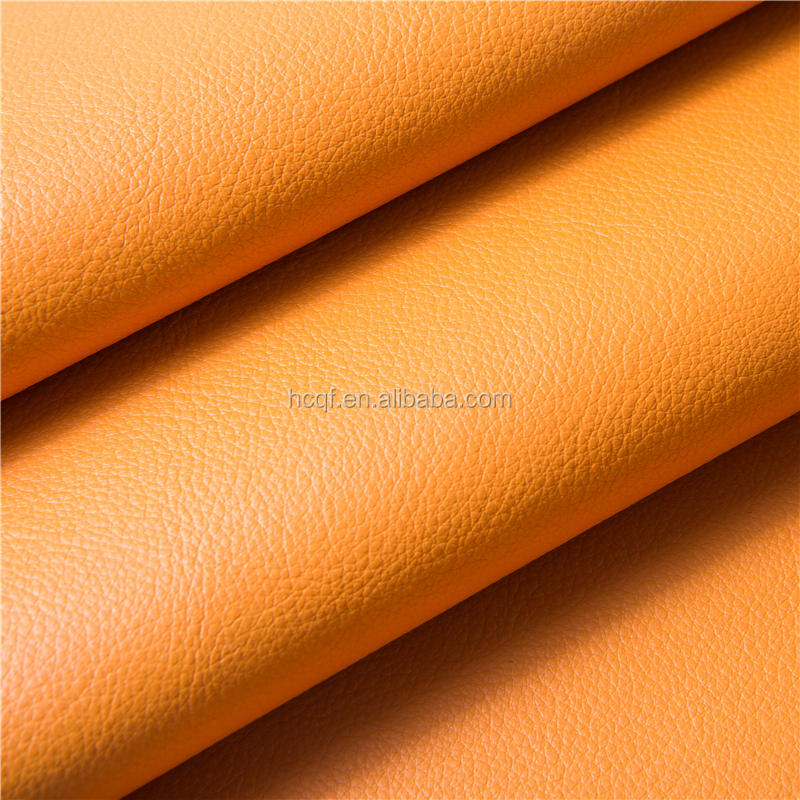 Modern style dot pattern recycled bonded leather for upholstery