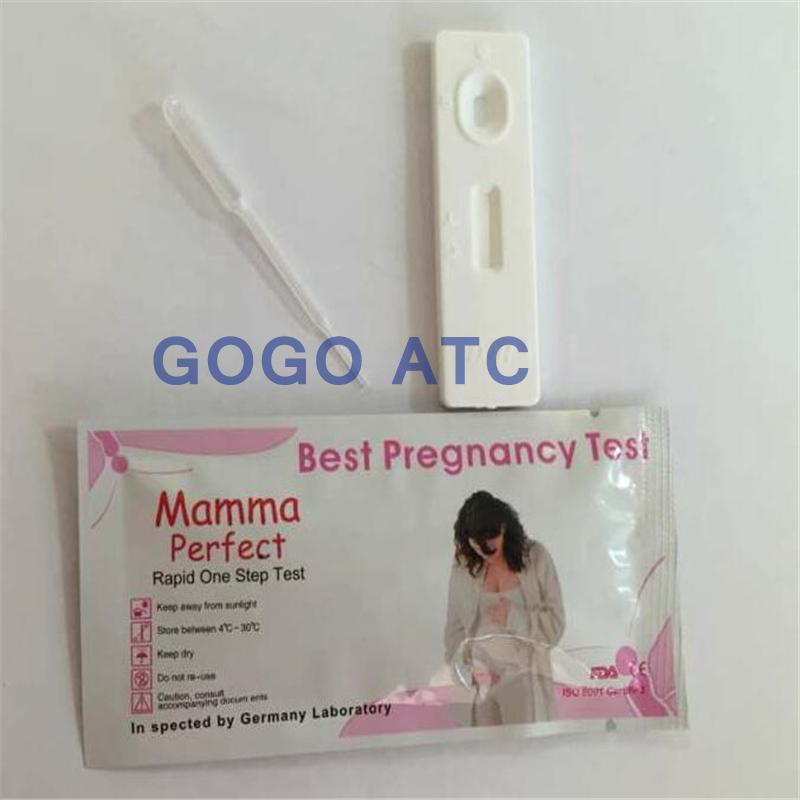 צעיר HCG מכשיר בדיקת הריון/מחיר סיטונאי HCG רצועת בדיקה מהירה-ציוד YH-96