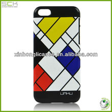 for iphone 5C case, pc case for iphone 5C, popular grid design case for iphone 5C