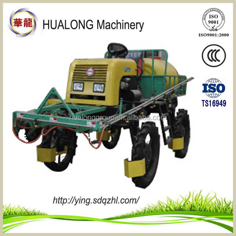 amphibious boom pesticide sprayer for corn fruit tree and wheat