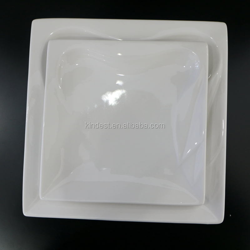 FDA&LFGB stander cheap porcelain sushi/pizza plate, cheap round&square ceramic dinner plate