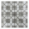 Hot Sale wooden grey marble tile Cut-To-Size marble for floor decoration