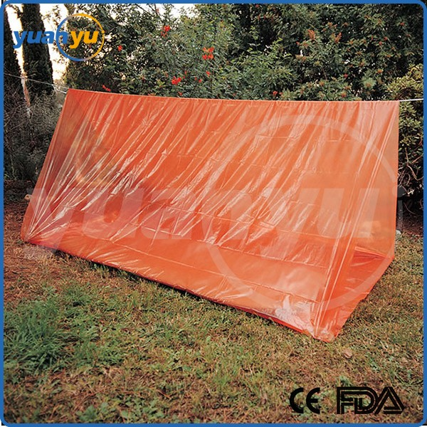 Hiking C&ing Shelter Outdoor Portable Emergency Survival 2 Persons Tube Tent & Hiking Camping Shelter Outdoor Portable Emergency Survival 2 ...