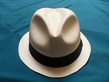 81faa288406bb7 Authentic Trilby Straw Panama Hat - SUPER FINO All Sizes - [Montecristi -  Ecuador]
