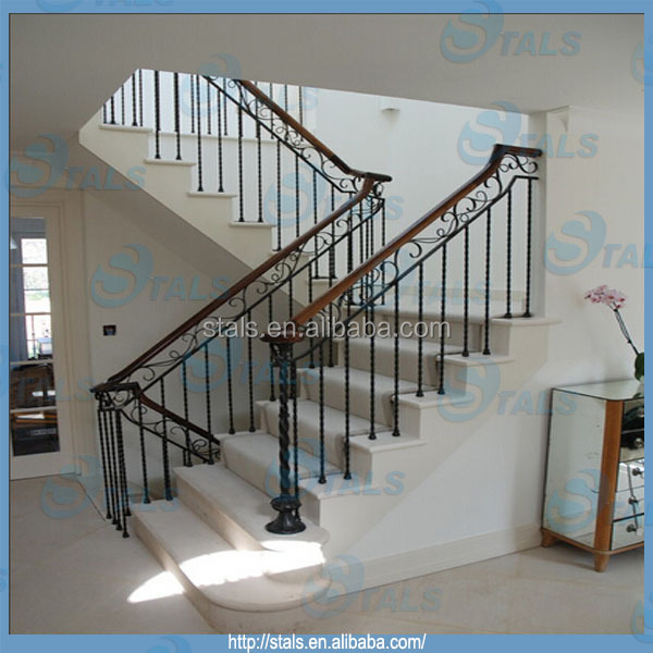 Exquisite Staircase Design furniture interior inspiring exquisite floating foxy glass staircases minimalist home staircase design modern living room interiors Exquisite Wrought Iron Railing Straight Staircase Design For Villa