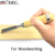 12pcs Wooden Handle Carving Chisel Set For Woodworking