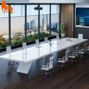 High quality modular MDF wood conference boardroom table