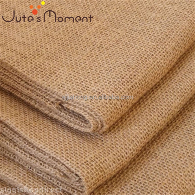 Wholesale natrual laminated Jute burlap fabric