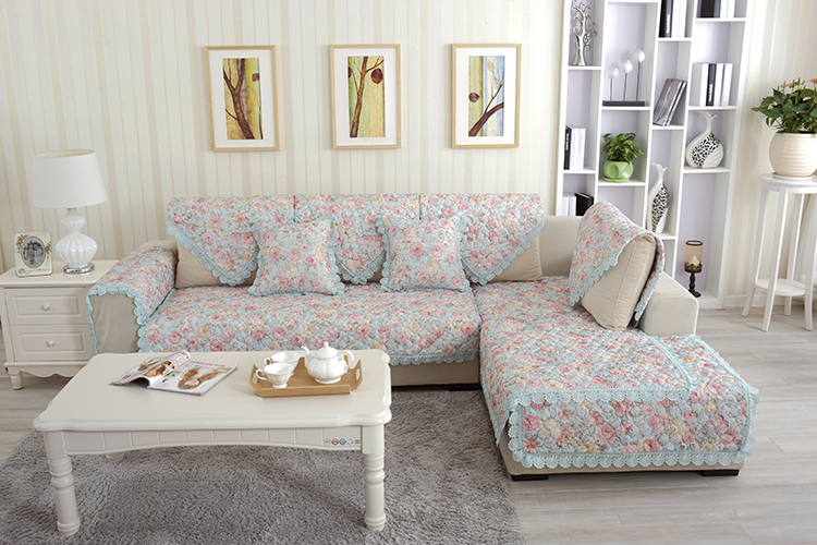 Indian Style Sofa Covers Corner With Chaise Lounge