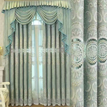 Wholesale Fabric Curtains Elegant European Style Living Room ...