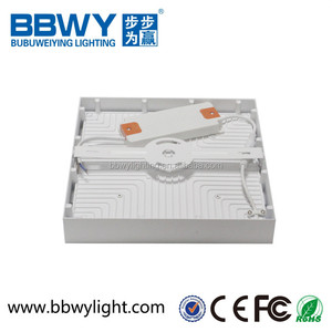 Zhongshan Factory Oled Lighting China 16w /24w/30w Surface Square Led Panel Light Surface Mounted IP44 CCC/CE/ROHS/ BIS