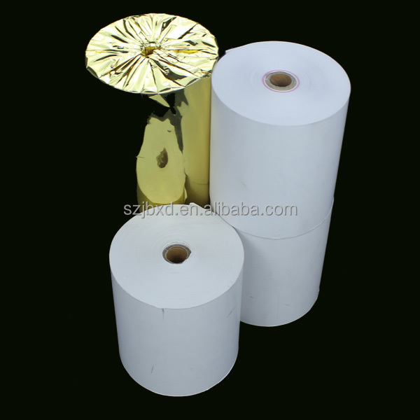 "3 1/8"" Thermal Cash Register POS Paper Roll Tape 110' - 50 / Case"