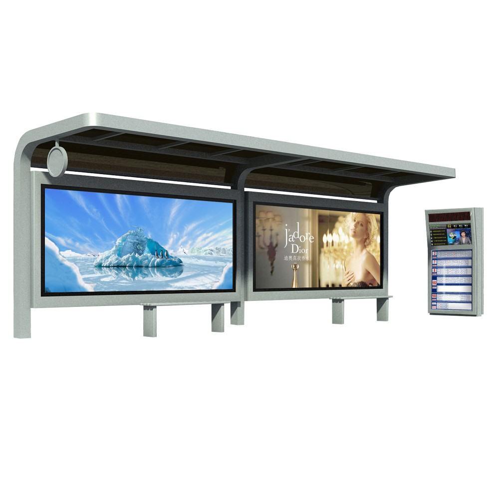 product-YEROO-2020 Fashion advertising bus station bus shelter manufacturers-img