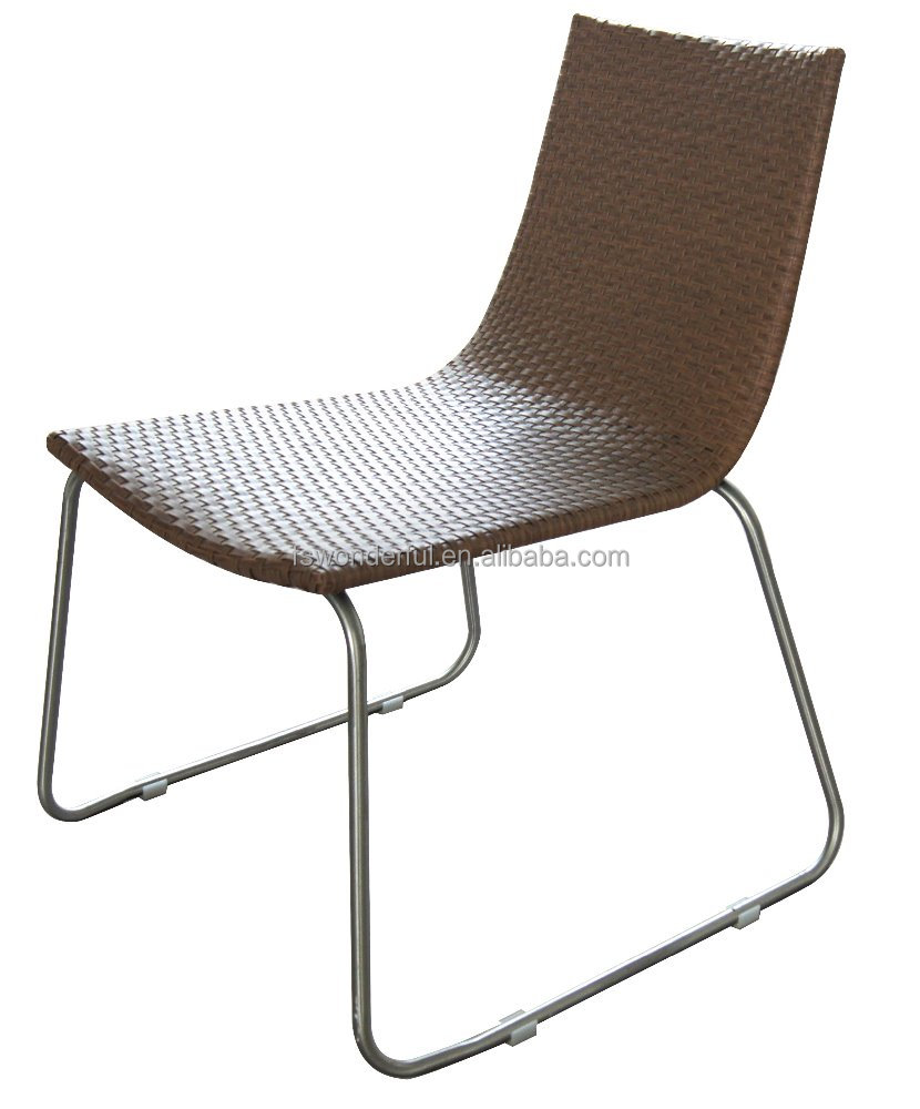 Garden Furniture Chair Stainless Steel Rattan Chair - Buy Stainless