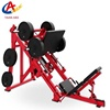 Commercial factory direct free weight plate loaded gym equipment Linear Leg press strength body stretching fitness equipment