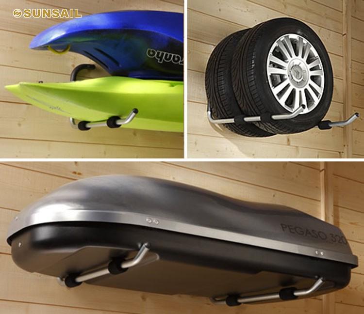 Car Roof Box Bracket Surfboard Holder Kayak Canoe Wall