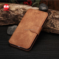 2016 New Luxury Mobile Phone Wallet with Card Slots Stand Book Magnetic WILDLEDER SUEDE Leather Flip Case for iPhone 6 6S Plus
