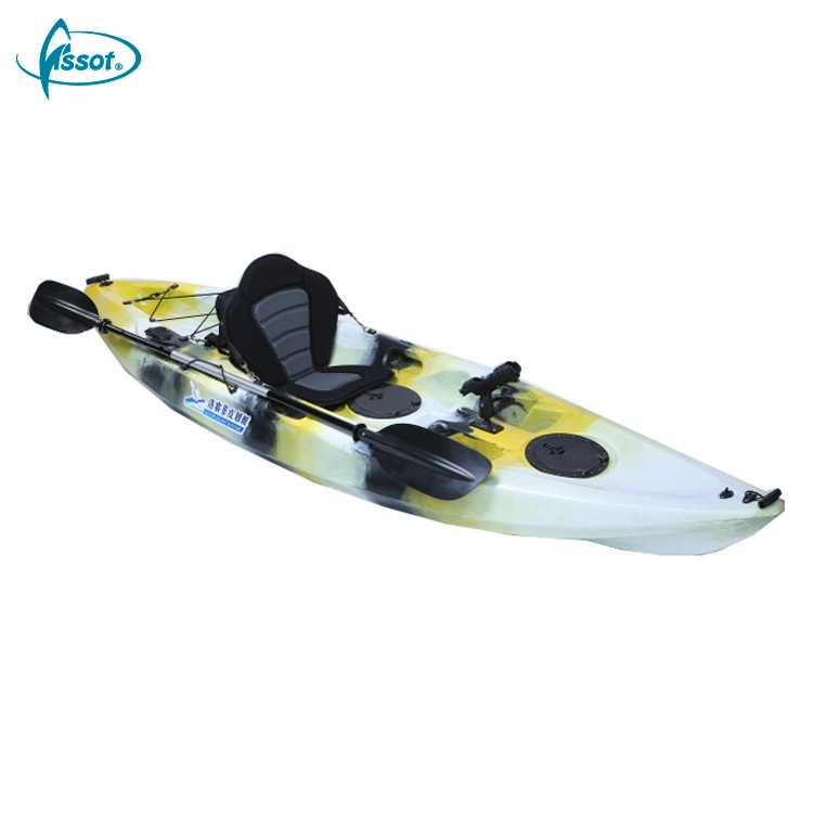 No inflatable 2.9 meters ocean angler kayak with paddle