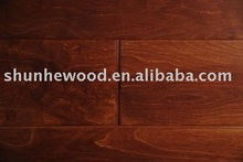 Multilayer birch engineered wood flooring, household use,1200*125*122/2mm made in China,UV laquered Grade ABC